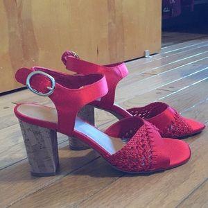 Never Worn Chic Red Heels!